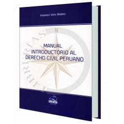 MANUAL INTRODUCTORIO AL DERECHO CIVIL PERUANO